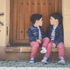 Cuando los gemelos se imitan