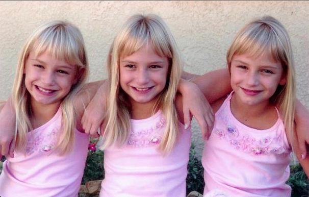 Los gemelos, mellizos o trillizos pueden ser idénticos entre sí o no, dependiendo del momento en el que se dividió el óvulo fecundado