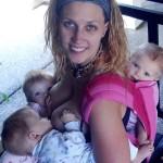 Testimonio de una lactancia materna exclusiva, ¡Con trillizas!