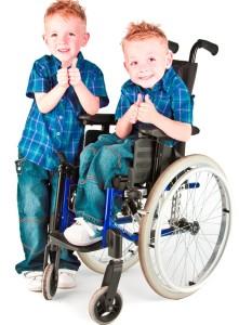 gemelos mellizos trillizos discapacitado discapacitados