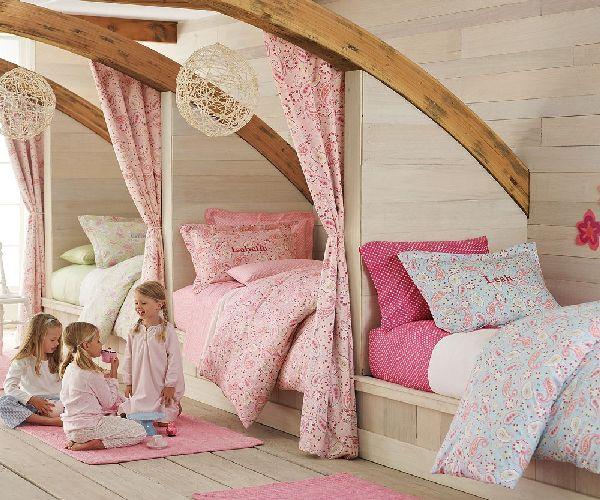 Cuando pasar a las trillizas de la cuna a la cama for Cuartos para ninas gemelas