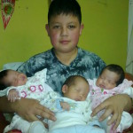 Creía que esperaba dos bebés… ¡Pero eran trillizos!