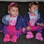 Unas gemelas muy luchadoras con un CIR severo
