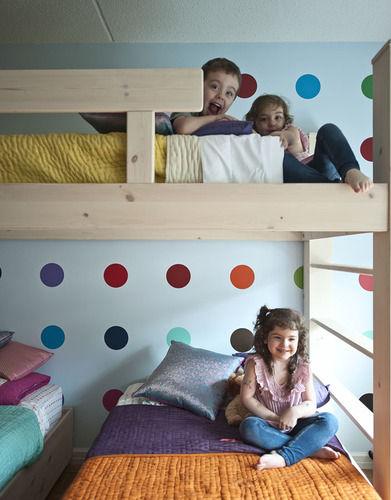 Trillizas que comparten habitaci n somos m ltiples - Habitacion de bebe fotos ...