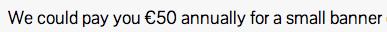 Está claro que con esto del blog no me voy a hacer rica...