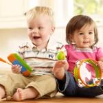 ¿Cuando aprenden a compartir los gemelos, mellizos y trillizos?