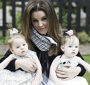 Lisa Marie Presley Children 2014 ¡Mis gemelas me a...