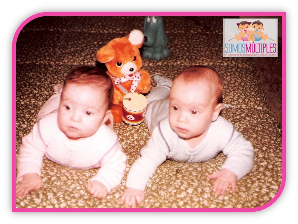 Lorena y su hermano mellizo Iván