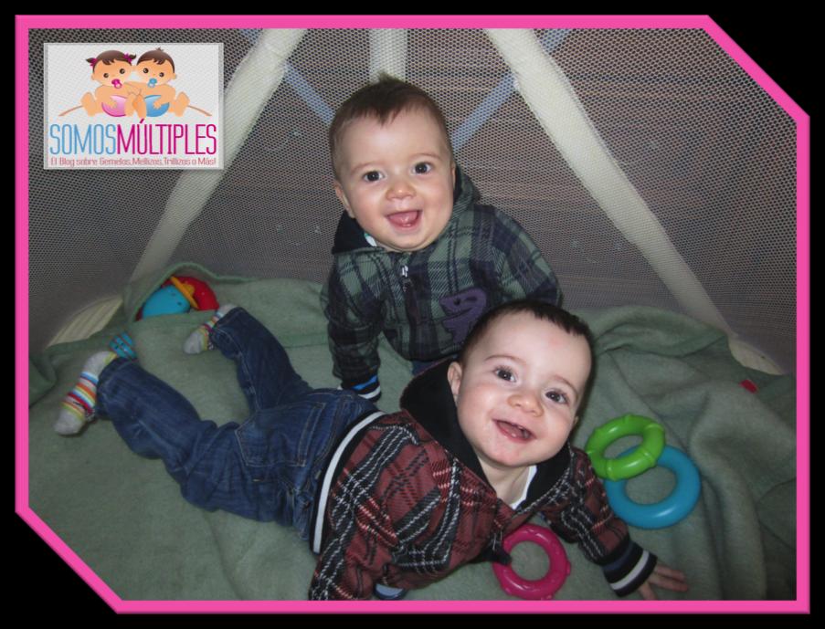Alejandro y Pablo, los preciosos mellizos de Lorena
