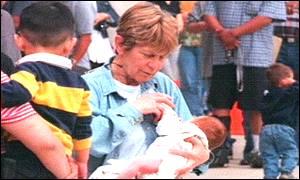 Jeanine Salomone: Madre de dos niños a los 62 años