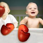 Consejos para afrontar las peleas entre gemelos, mellizos y trillizos