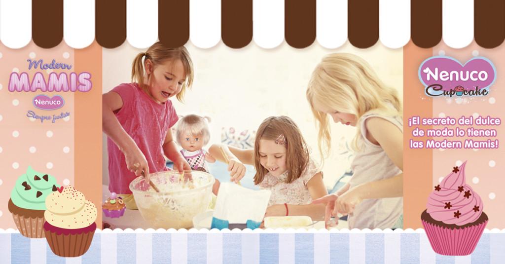 La tienda de cupcakes de Nenuco (Famosa)