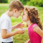 Mellizos de 7 años: Competitividad extrema