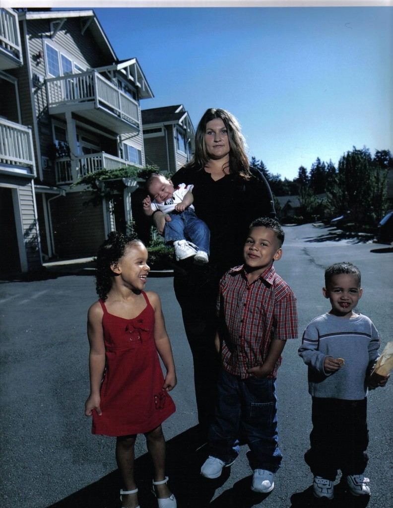 Lydia Fairchild y sus hijos